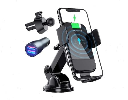 Wireless Car Charger, CTYBB Qi