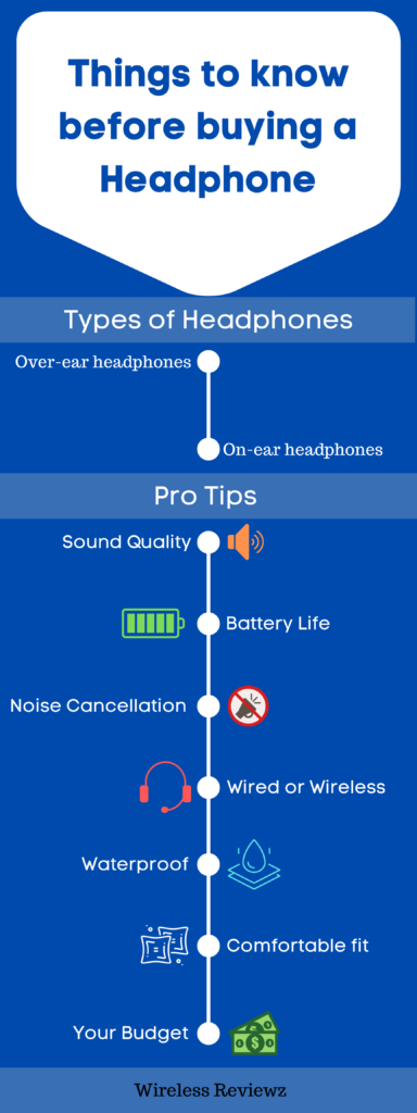 Things to know before buying a Headphone - headphones buyer's guide
